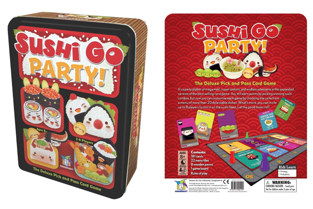 best adult card games sushi go