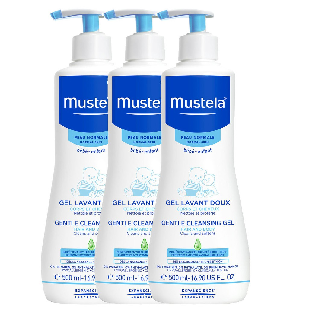 best baby skincare products mustela cleansing gel