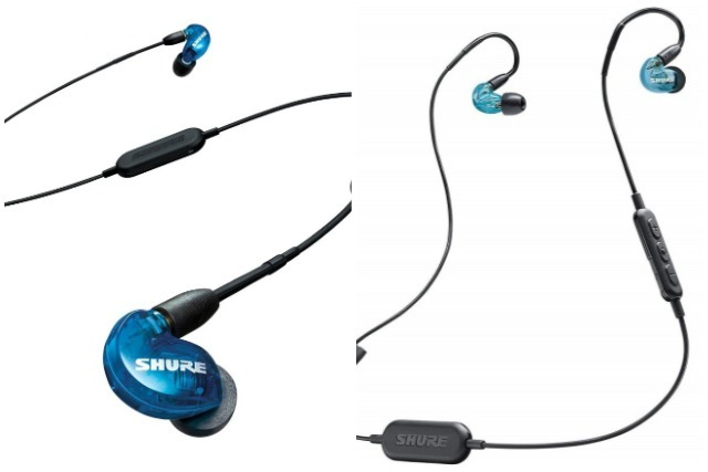 best wireless earphones shure se215bt1 special edition