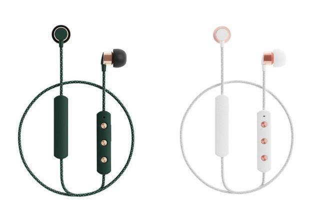 best wireless earphones sudio tio white green
