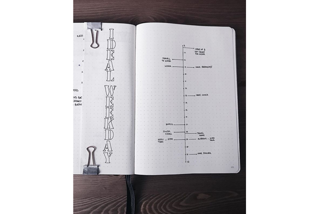 bullet journal ideas minimalism