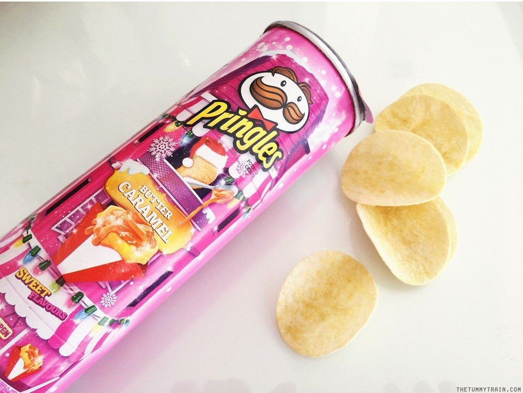 butter caramel pringles korean snacks