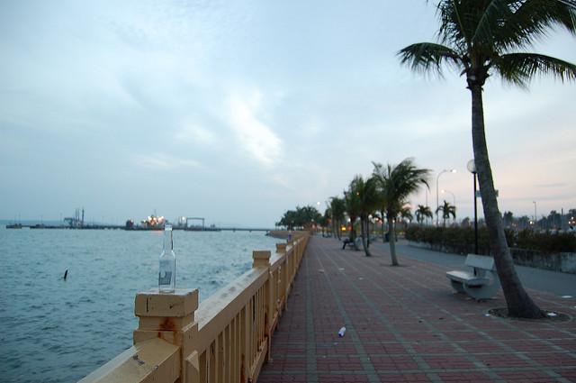 cycling singapore changi beach park coastal view