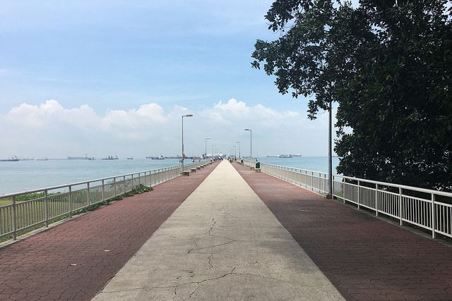 cycling singapore east coast park bedok jetty