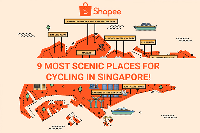 cycling singapore sunset bicycle trail scenic places