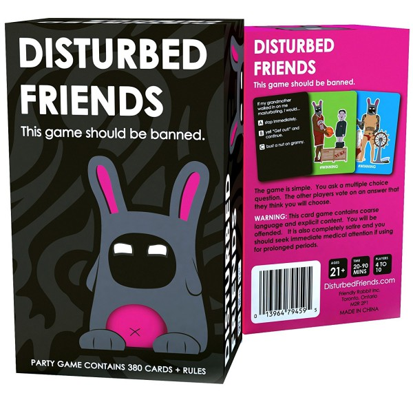 disturbed friends best adult card game