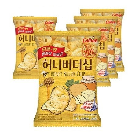honey butter chips korean snacks