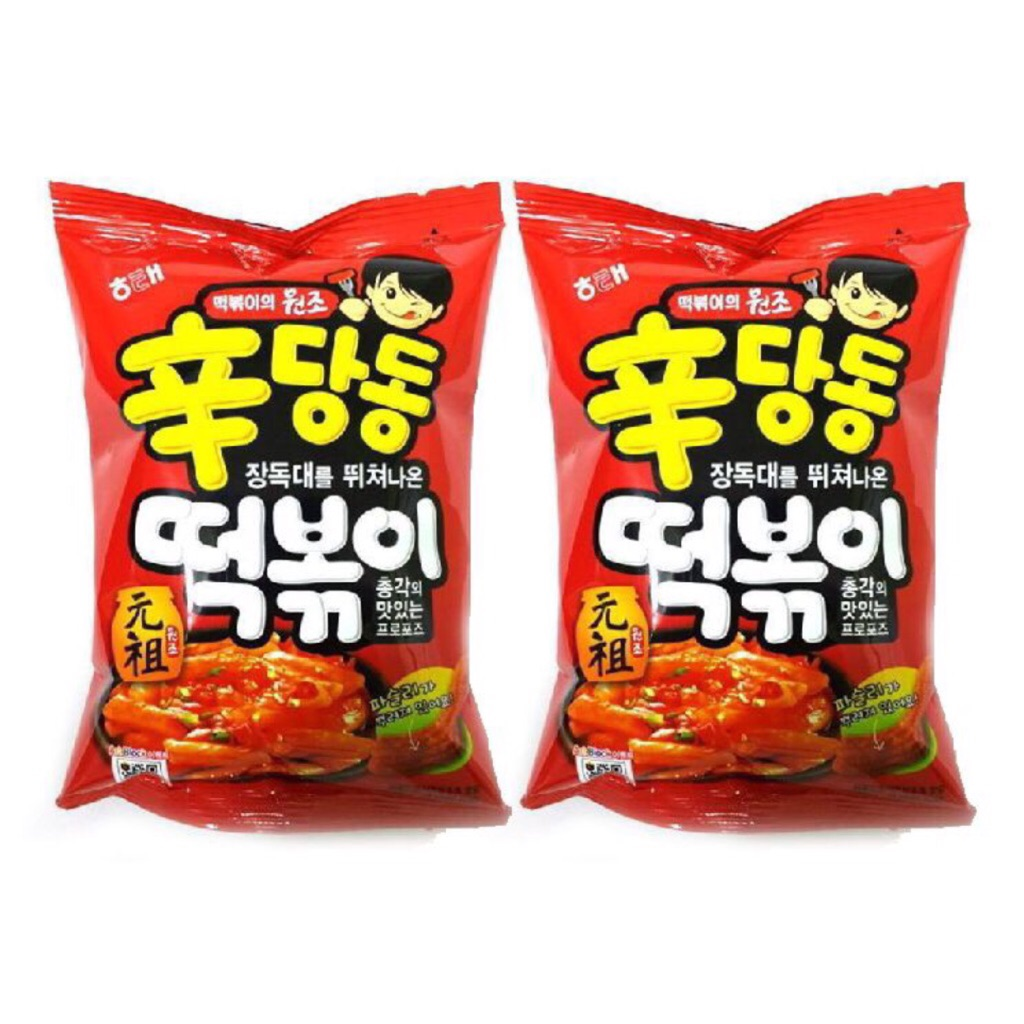 korean snacks haitai Tteokbokki