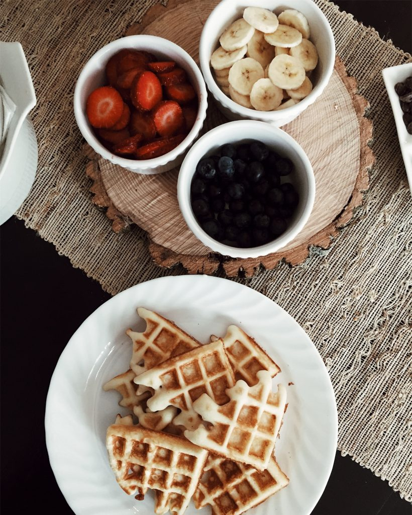 breakfast ideas for the working mother protein waffles