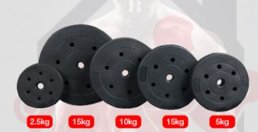 weight plates home gym equipment in singapore