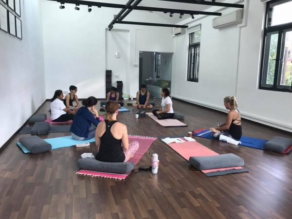 gentle restorative yoga classes singapore art of yoga