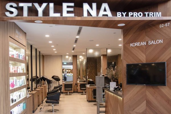 style na hair korean salon singapore