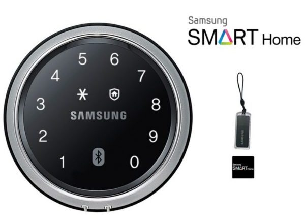 samsung smart door lock home security systems singapore