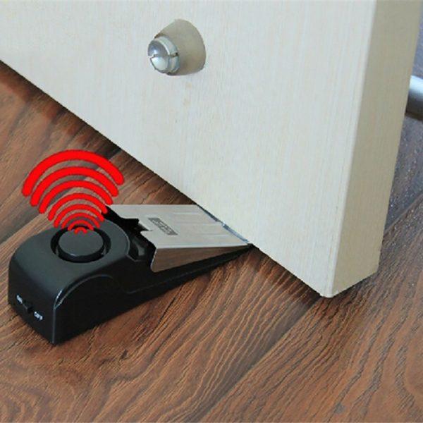 wireless door stop alarm home security system singapore