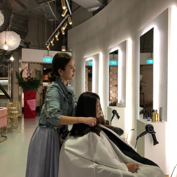 the space hair salon korean hair salon singapore