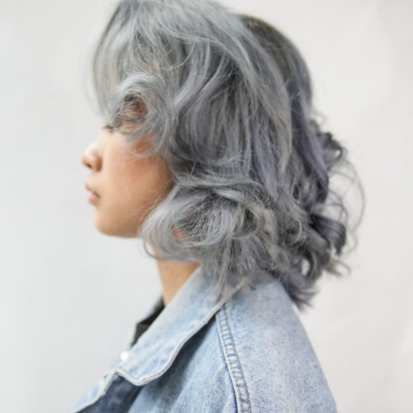 walking on sunshine korean hair salon singapore silver grey perm