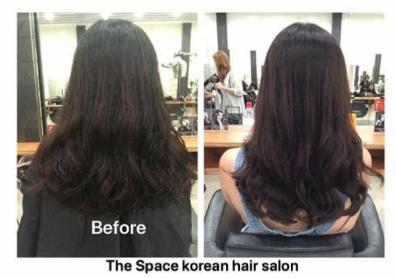 the space hair salon korean hair salon singapore perm rebond