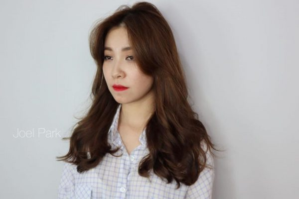 style na hair korean salon singapore girl long hair