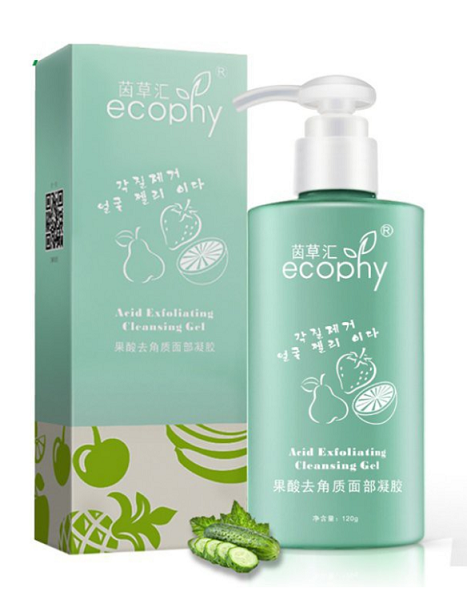 ecophy face exfoliator