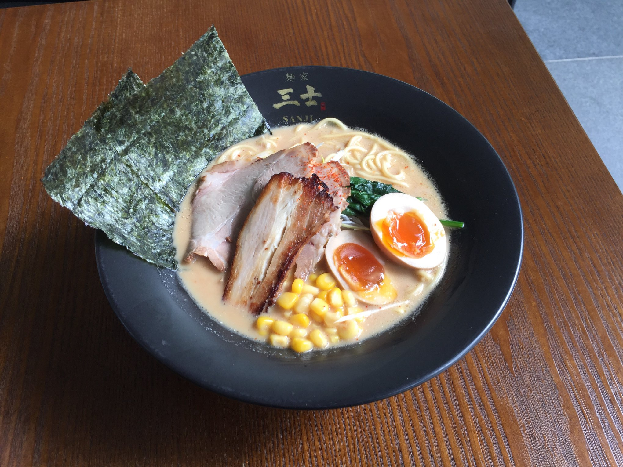 menya sanji ramen place in singapore