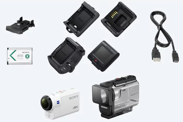 best action camera sony fdr x3000r accessories