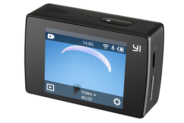 best action camera yi discovery rear touchscreen