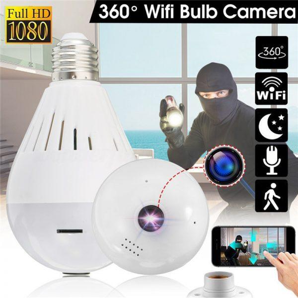 light bulb hidden camera thief theft home security system singapore