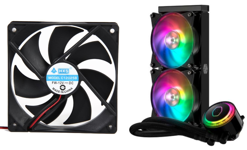 cooling system how to build a pc