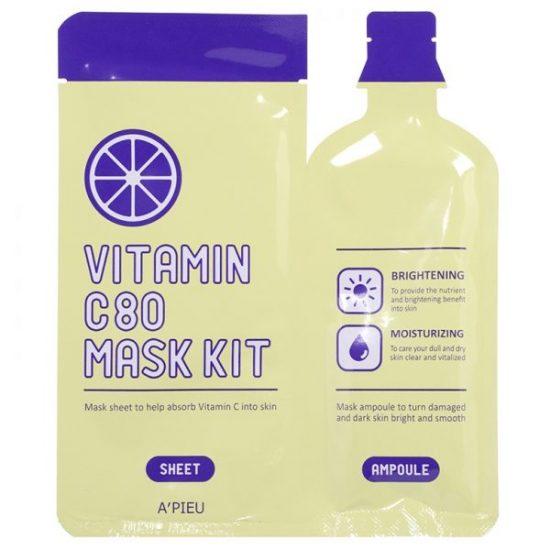 apieu vitamin c80 mask kit best korean mask