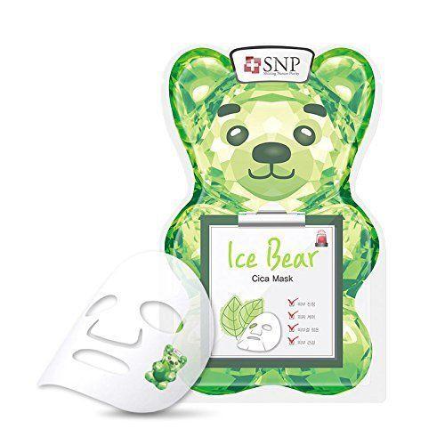 snp ice bear cica mask best korean face mask