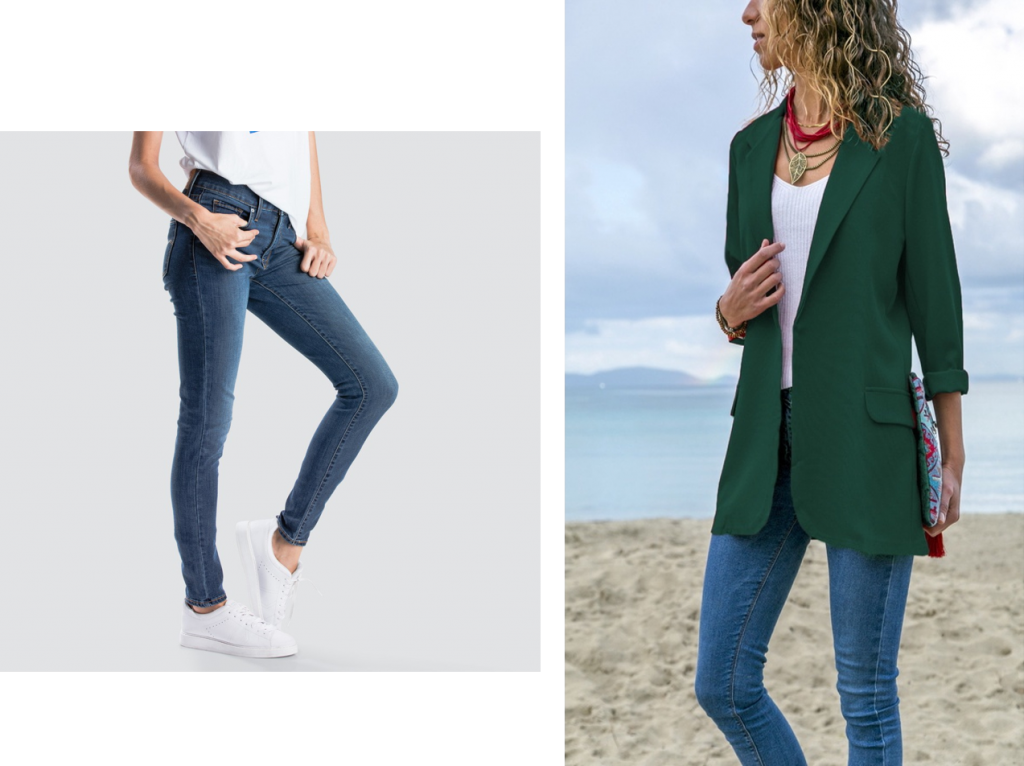 international women's day self starter jeans and blazer girl boss
