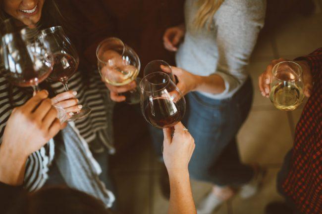 friends gathering party wine alcohol netflix singapore hacks