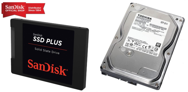 hdd ssd storage disk how to build a pc