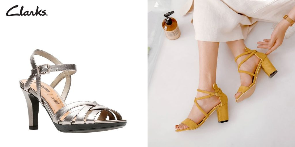 strappy sandal comfortable heels singapore