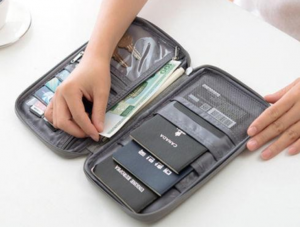 travel wallet travel essentials carry-on luggage