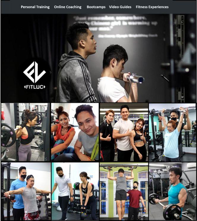 fitluc personal trainer singapore