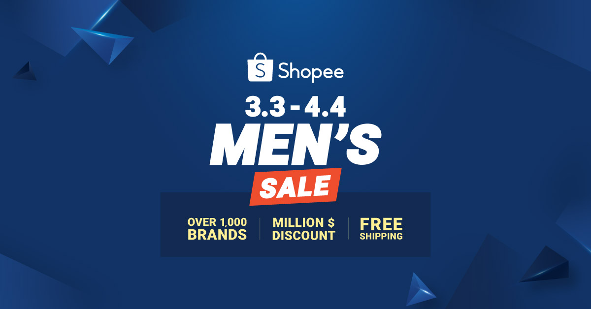 Shopee Men S Sale 9 Things Worth Looking Out For From 3 Mar 4 Apr