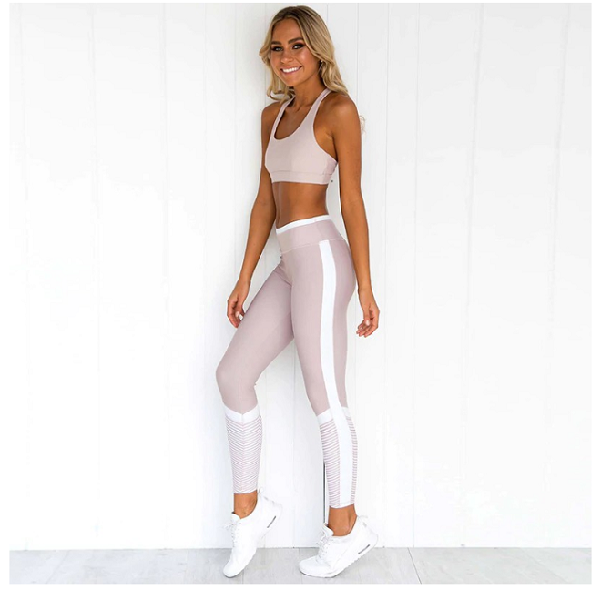 pink yoga set affordable yoga clothes in singapore