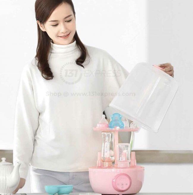 baby bottle steriliser xiaomi kola mama electric steam dryer