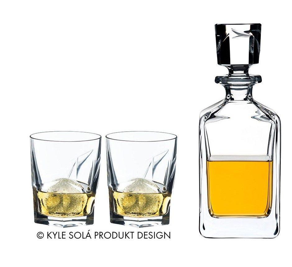 decanter set 2 glasses bar counter design