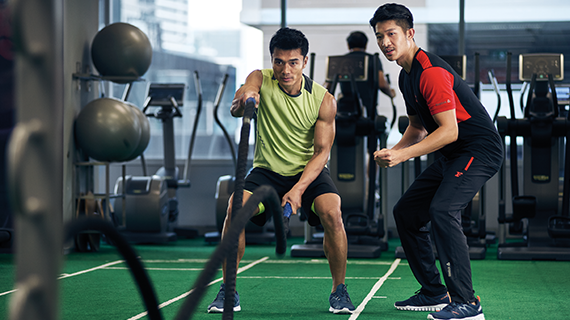 fitness first personal trainer singapore