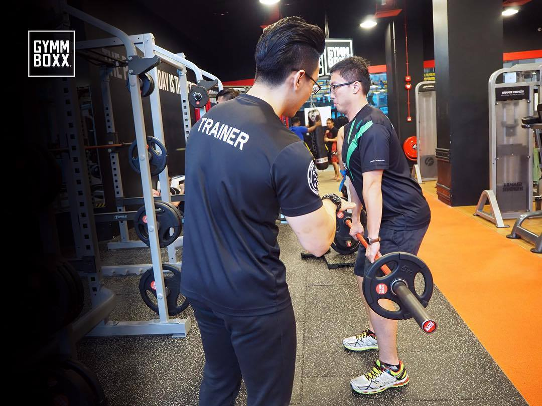 gymmboxx personal trainer singapore