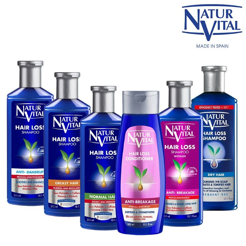 naturvital best shampoo for hair loss