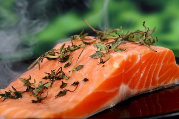 salmon herbs best vitamins for skin vitamin D food