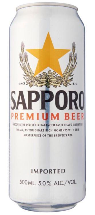 sapporo premium beer in singapore