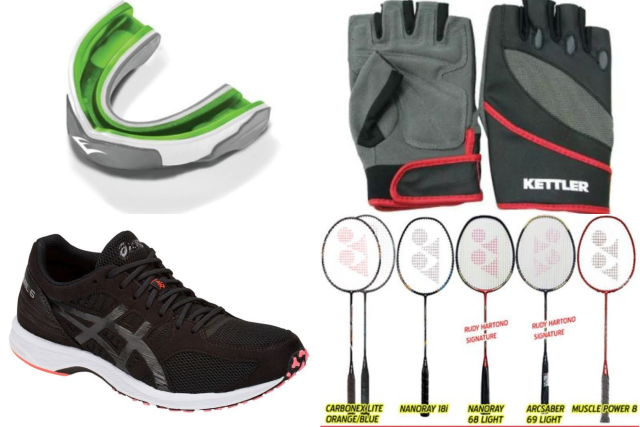 sports equipment in singapore featured