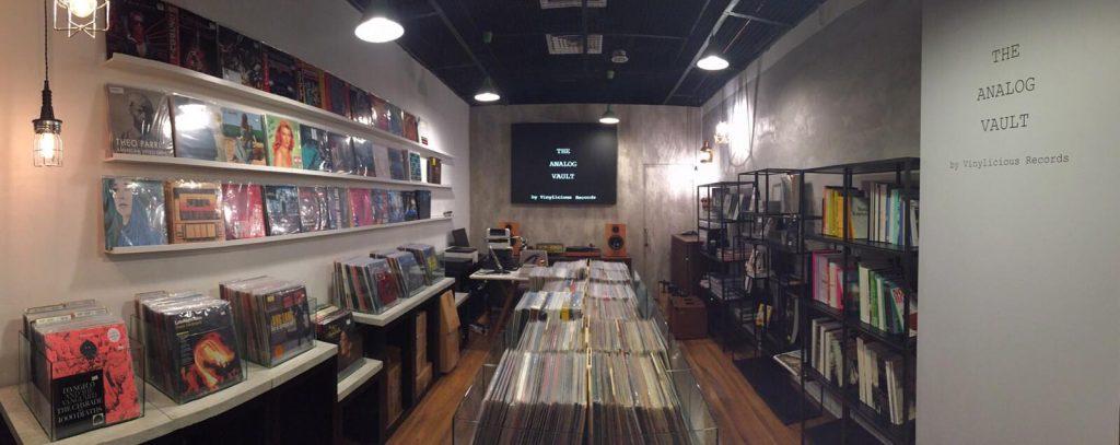 the analog vault vinyl records in singapore