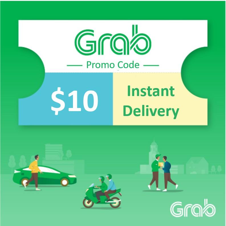 $10 Grab Voucher