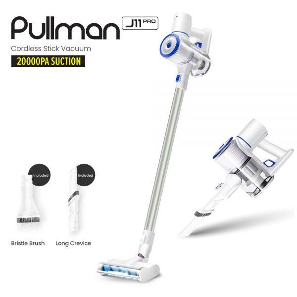 best cordless vacuum cleaner pullman j11 pro