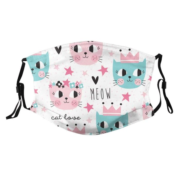 gifts for cat lovers cat-themed reusable face mask